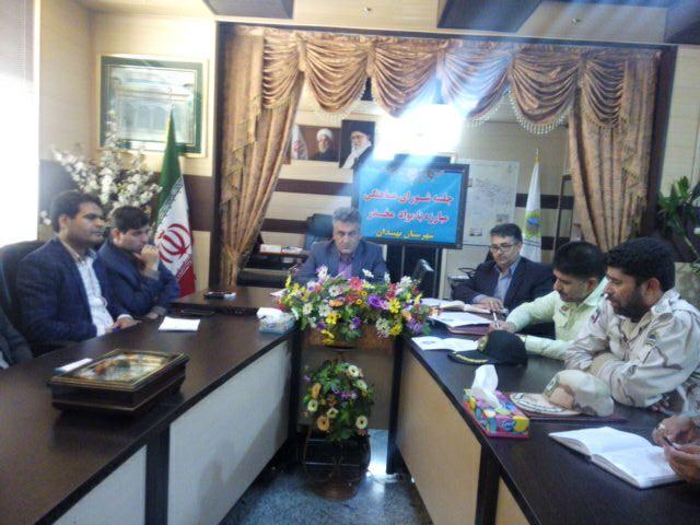 برگزاري جلسه شوراي هماهنگي مبارزه با مواد مخدر شهرستان نهبندان